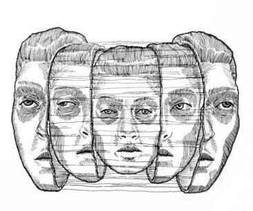 Dolls 01 Peter Striffolino 2015 - Ink in Paper - Strifftease