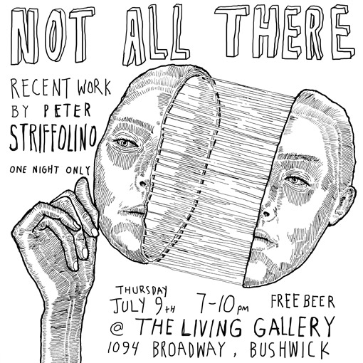 """NOT ALL THERE"" SOLO SHOW"