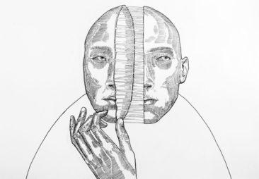 Break 01 - Peter Striffolino 2015 - Ink in Paper - Strifftease