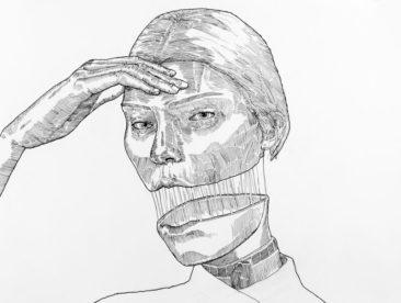(v)ouge  - Strifftease - Peter Striffolino