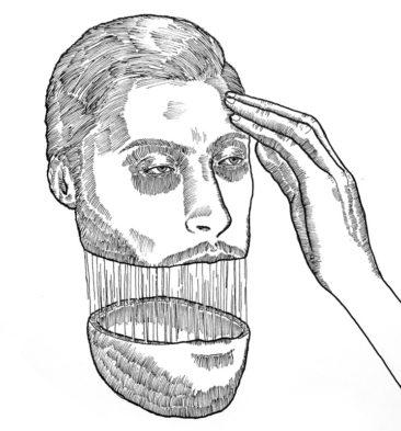 Self-Portrait-Split-01 Peter Striffolino - Strifftease