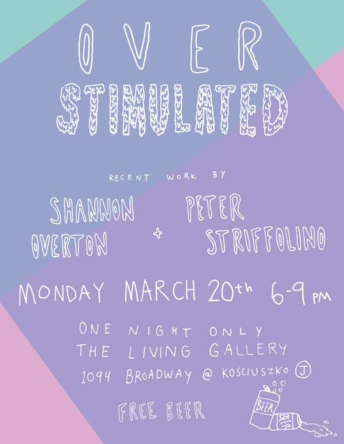 """OVER STIMULATED"" DUO SHOW"
